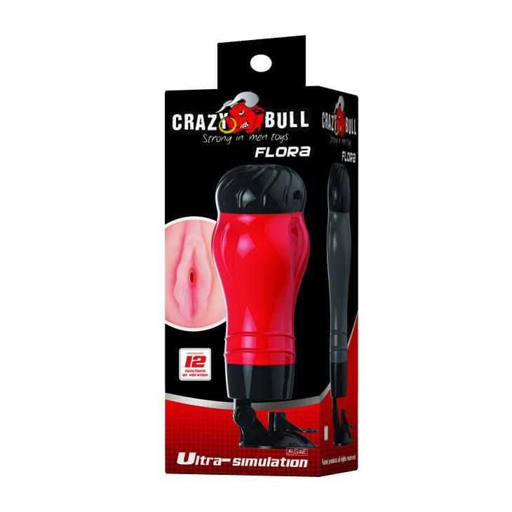 Hít tường Crazy Bull 12 chế độ rung xoay 140 độ
