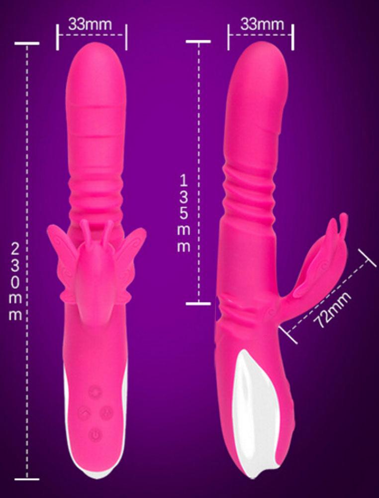 kích thước Dương vật rung thụt  Fanama