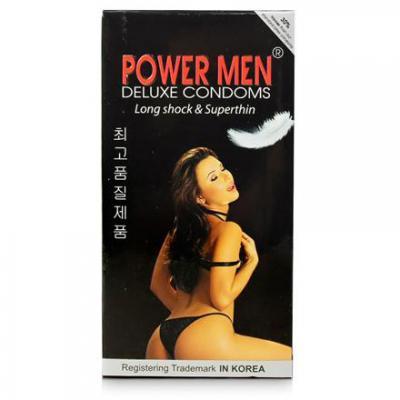 Mua Hộp Bao cao su Power Men Long Shock and Super Thin